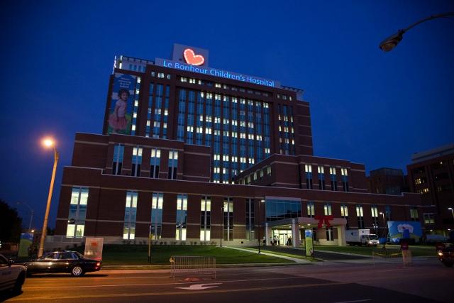 Le Bonheur Children S Hospital Emergency Room Memphis Tn